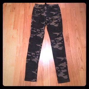 Army Camo Jeggings